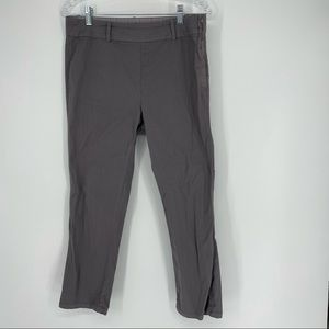 Fresh Produce Grey Side Zipper Dress Pants Small